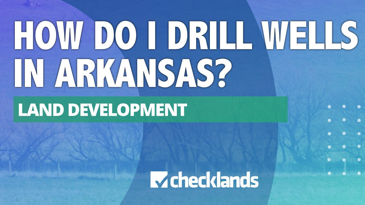 HOW DO I DRILL WELLS, Checklands