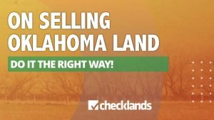 SELLING OKLAHOMA LAND 300x169, Checklands