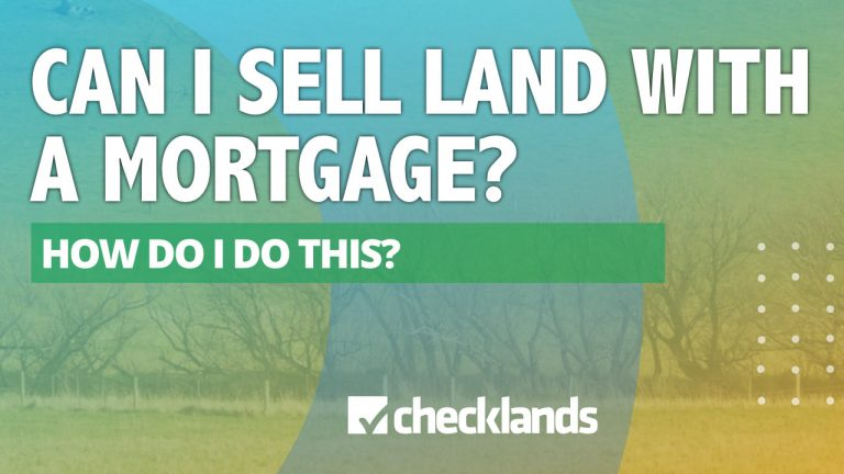Can I Sell Land if I Have Mortgage in Texas?