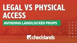 Owning Physical Access To Land 300x169, Checklands