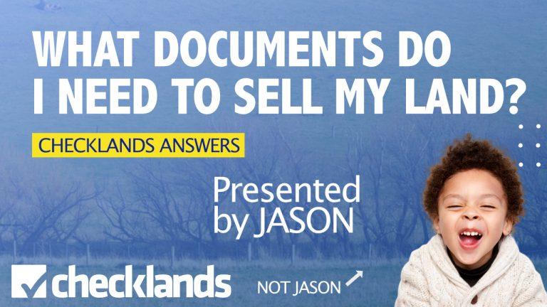 What Documents Do I Need to Sell My land?