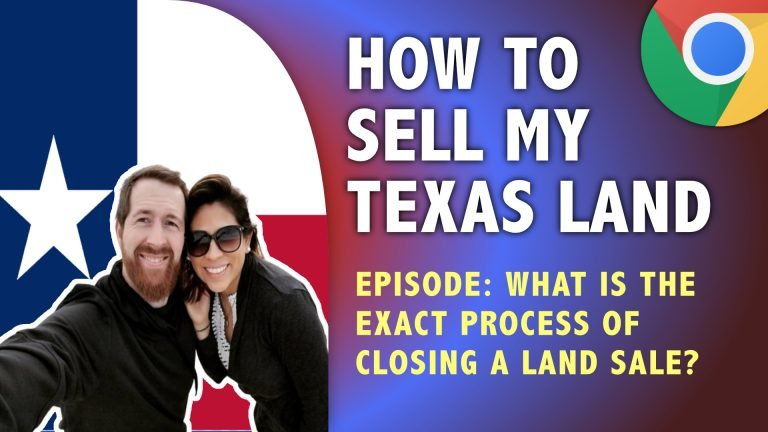 How Does a Land Sale Work?